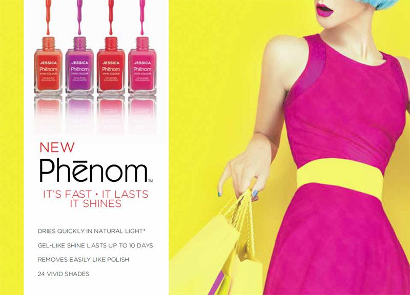 Jessica Phenom – it's fast, it lasts and it shines!