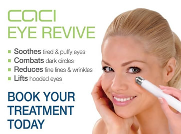 Winter months leaving you looking tired? Try the Caci Eye Revive!